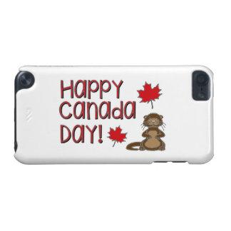 Capa Para iPod Touch 5G Dia feliz 3 de Canadá