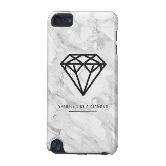 Capa Para iPod Touch 5G Diamante com mármore