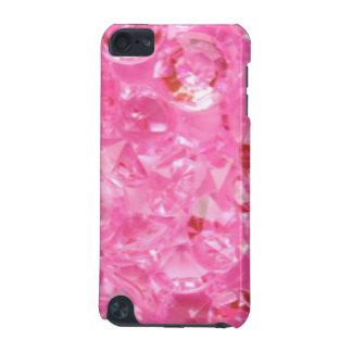Capa Para iPod Touch 5G Diamantes cor-de-rosa