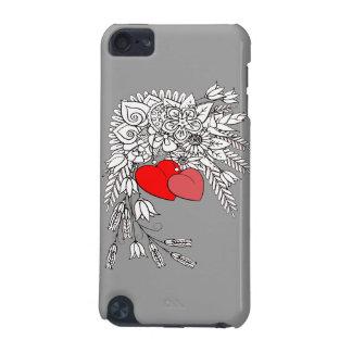 Capa Para iPod Touch 5G Dois corações 2