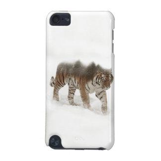 Capa Para iPod Touch 5G Exposição-animais selvagens tigre-Tigre-dobro