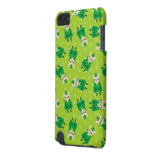 Capa Para iPod Touch 5G Frenchie bonito afortunado no dia de St Patrick