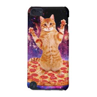 Capa Para iPod Touch 5G gato da pizza - gato alaranjado - espace o gato