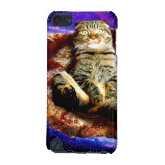 Capa Para iPod Touch 5G gato da pizza - gato louco - gatos no espaço
