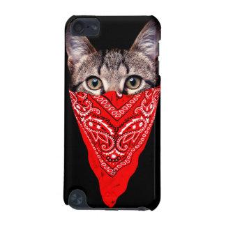 Capa Para iPod Touch 5G gato do gângster - gato do bandana - grupo do gato