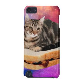 Capa Para iPod Touch 5G gato do pão - gato do espaço - gatos no espaço