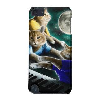 Capa Para iPod Touch 5G gato do teclado - música do gato - memes do gato