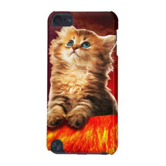 Capa Para iPod Touch 5G gato do vulcão, gato vulcan,