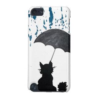 Capa Para iPod Touch 5G Gato sob o guarda-chuva