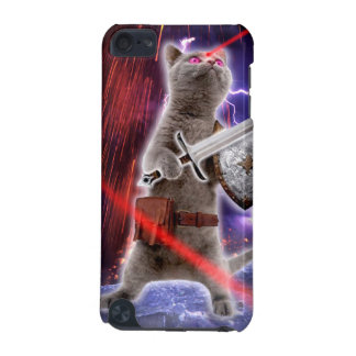 Capa Para iPod Touch 5G gatos do guerreiro - gato do cavaleiro - laser do