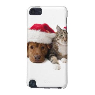 Capa Para iPod Touch 5G Gatos e cães - gato do Natal - cão do Natal