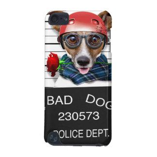 Capa Para iPod Touch 5G Jaque engraçado russell, cão do Mugshot