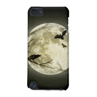 Capa Para iPod Touch 5G Lua do Dia das Bruxas - ilustração da Lua cheia