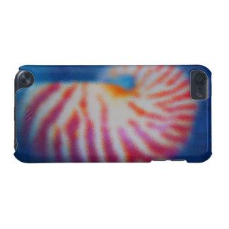 Capa Para iPod Touch 5G Mar Shell sob a água