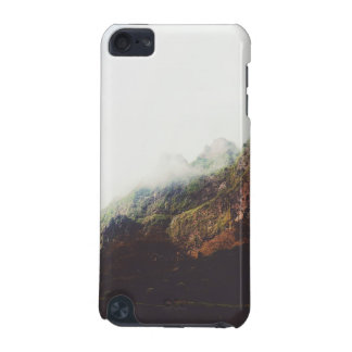 Capa Para iPod Touch 5G Montanhas enevoadas, cena de relaxamento da