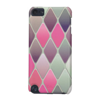 Capa Para iPod Touch 5G Mosaico cor-de-rosa do diamante