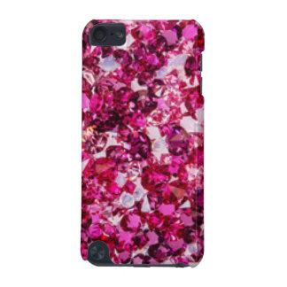 Capa Para iPod Touch 5G Multi diamantes do rosa da cor