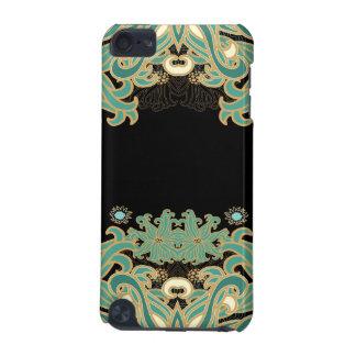 Capa Para iPod Touch 5G nouveau da arte, vintage, floral, époque do belle,