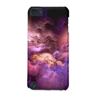 Capa Para iPod Touch 5G Nuvens roxas irreais