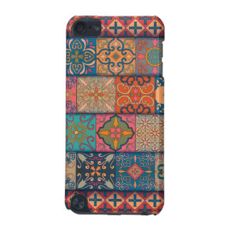 Capa Para iPod Touch 5G Ornamento de talavera do mosaico do vintage