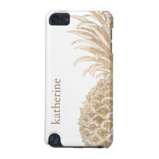 Capa Para iPod Touch 5G Ouro Pinneapple tropical