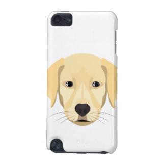 Capa Para iPod Touch 5G Ouro Retriver do filhote de cachorro da ilustração