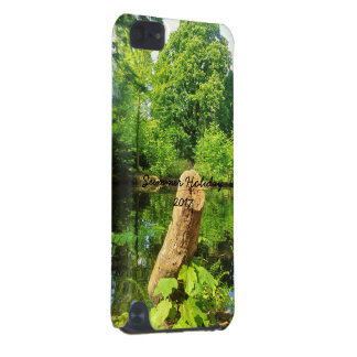 Capa Para iPod Touch 5G Parque do lago photography da natureza do tronco