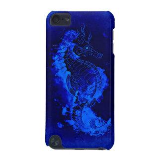 Capa Para iPod Touch 5G Pintura azul do cavalo marinho