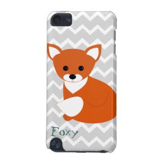 Capa Para iPod Touch 5G Pouco design do Fox vermelho