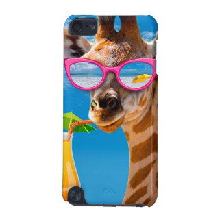 Capa Para iPod Touch 5G Praia do girafa - girafa engraçado