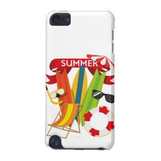 Capa Para iPod Touch 5G Praia Watersports do verão