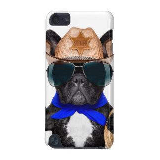 Capa Para iPod Touch 5G pug do vaqueiro - vaqueiro do cão