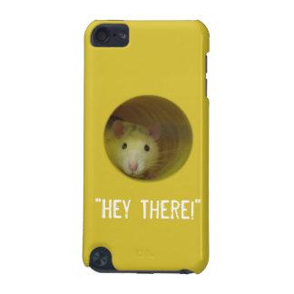 Capa Para iPod Touch 5G Rato bonito no animal engraçado do furo