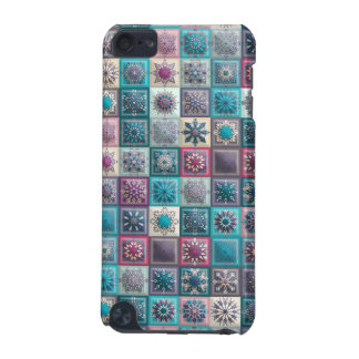 Capa Para iPod Touch 5G Retalhos do vintage com elementos florais da
