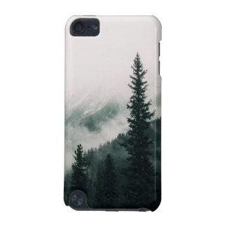 Capa Para iPod Touch 5G Sobre as montanhas e a calha as madeiras