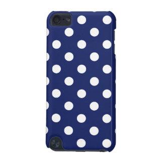 Capa Para iPod Touch 5G Teste padrão de bolinhas dos azuis marinhos e do