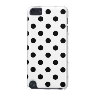 Capa Para iPod Touch 5G Teste padrão de bolinhas preto e branco