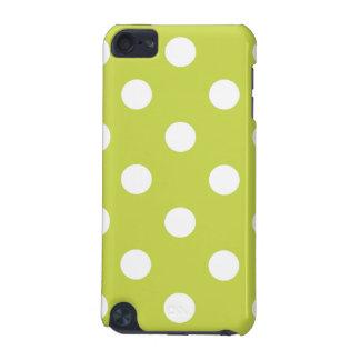 Capa Para iPod Touch 5G Teste padrão de bolinhas verde