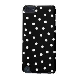 Capa Para iPod Touch 5G Teste padrão de pontos preto e branco dos confetes