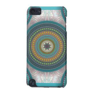Capa Para iPod Touch 5G Teste padrão floral étnico abstrato colorido da