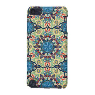 Capa Para iPod Touch 5G Teste padrão floral étnico abstrato colorido de da