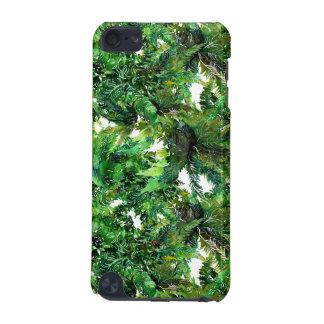 Capa Para iPod Touch 5G Teste padrão verde da queda da floresta da