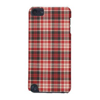 Capa Para iPod Touch 5G Teste padrão vermelho e preto da xadrez