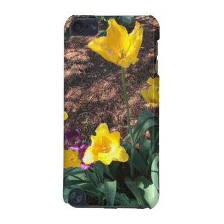 Capa Para iPod Touch 5G Tipo amarelo flores da tulipa do primavera