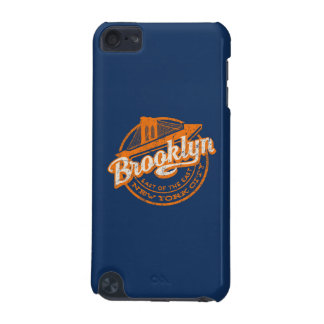 Capa Para iPod Touch 5G Tipografia retro do vintage de Brooklyn, New York
