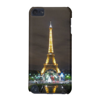 Capa Para iPod Touch 5G Torre Eiffel na noite, Paris