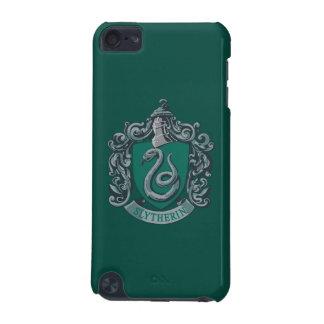 Capa Para iPod Touch 5G Verde da crista de Harry Potter   Slytherin