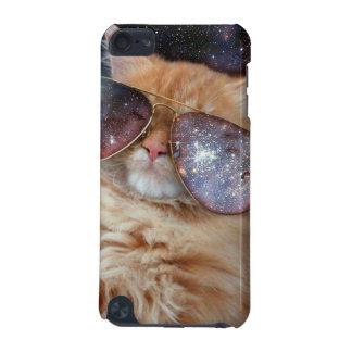 Capa Para iPod Touch 5G Vidros do gato - gato dos óculos de sol - espaço