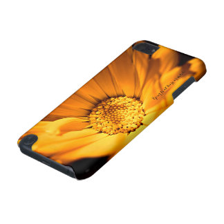 Capa Para iPod Touch 5G Wildflower brilhante da margarida alaranjada