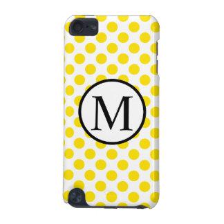 Capa Para iPod Touch 5G YellowPolkaDots